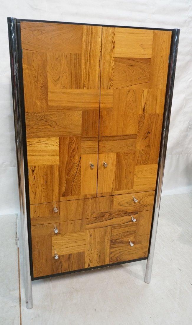 Tall Modernist Wardrobe Dresser. Tall vertical ch