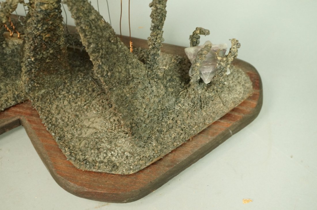 "JAMES M ENDERS Brutalist Sculpture. ""Saarinen's G - 10"