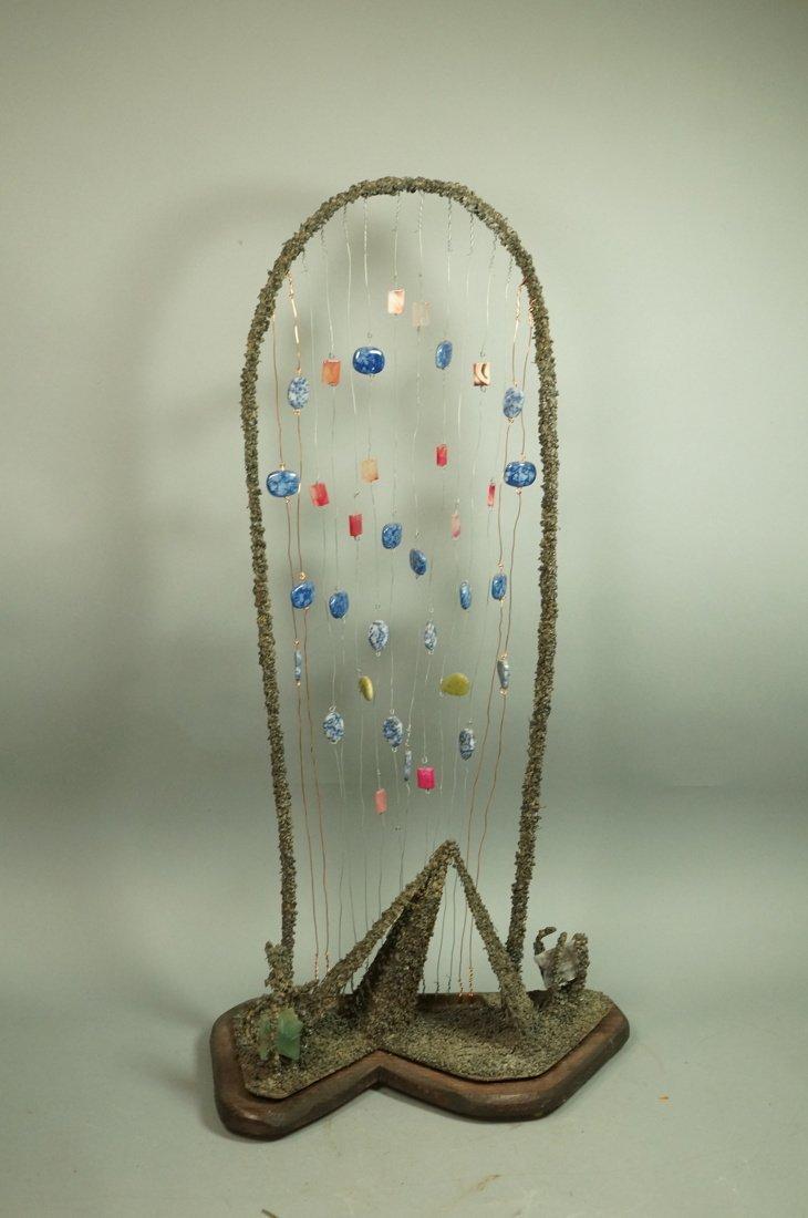 "JAMES M ENDERS Brutalist Sculpture. ""Saarinen's G - 4"