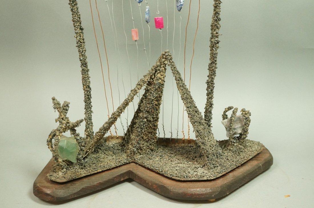 "JAMES M ENDERS Brutalist Sculpture. ""Saarinen's G - 8"
