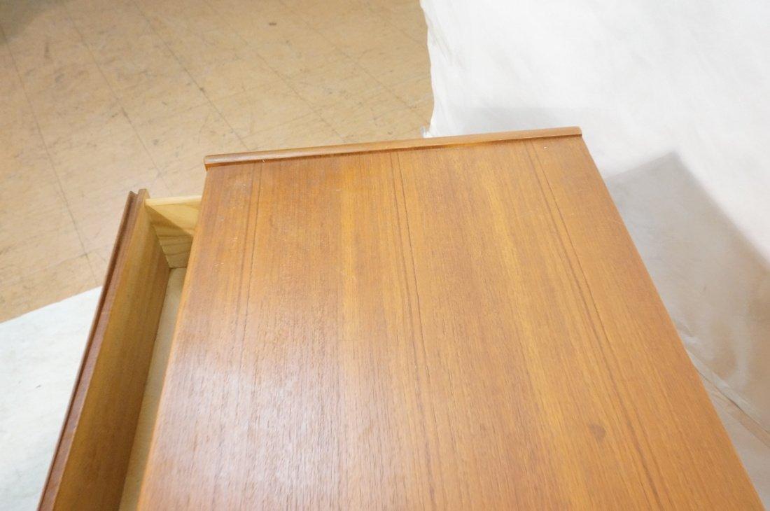 Pr Danish Teak Six Drawer Small Chests Dressers. - 6