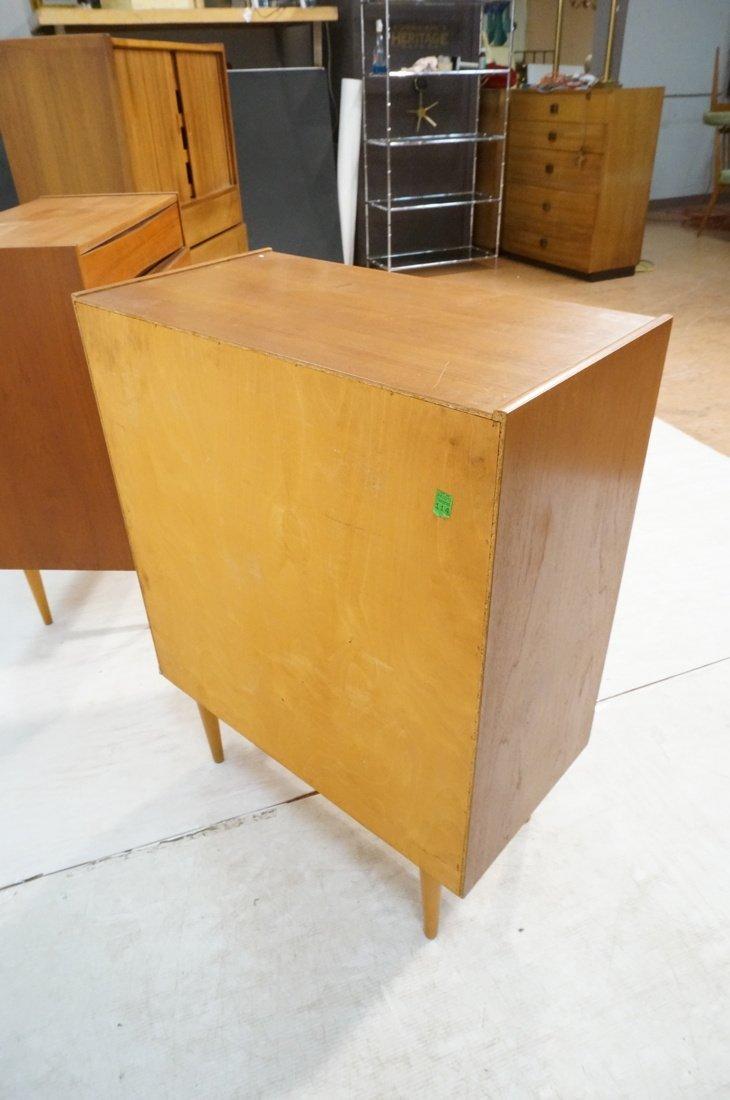 Pr Danish Teak Six Drawer Small Chests Dressers. - 8
