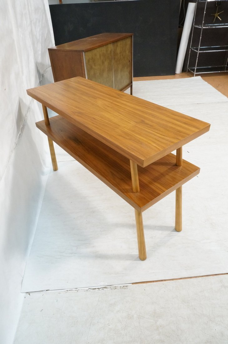 ROBSJOHN GIBBINGS for WIDDICOMB 2 Tier Hall Table - 4