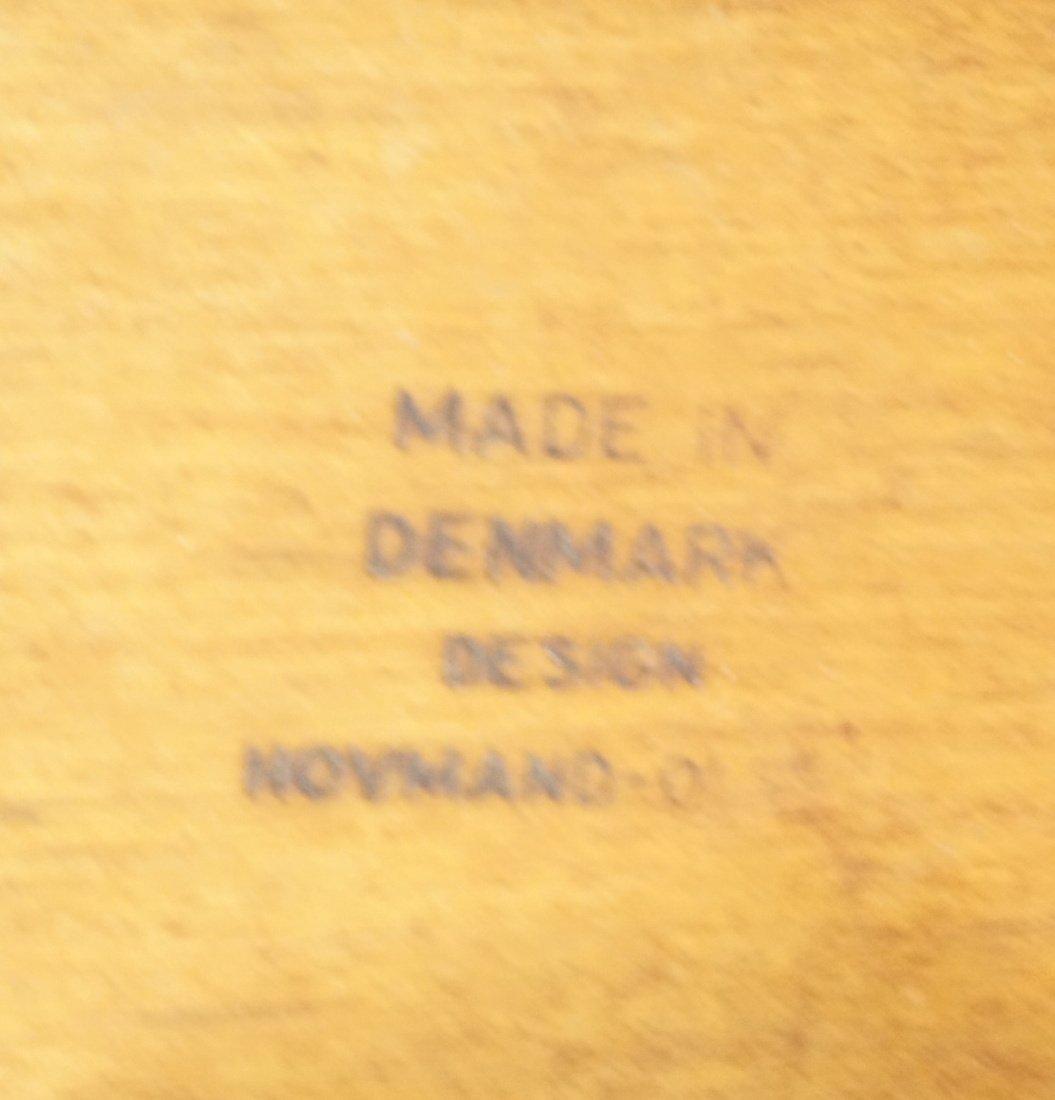 HOVMAND OLSEN Danish Teak Side Chair. Arched Fram - 7