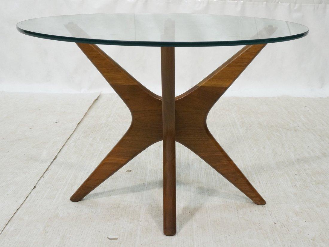 ADRIAN PEARSALL American Modern Walnut Side Table