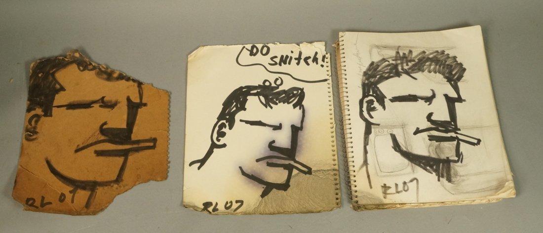 ROBERT LOUGHLIN  The Brute  Drawings Sketchbook w