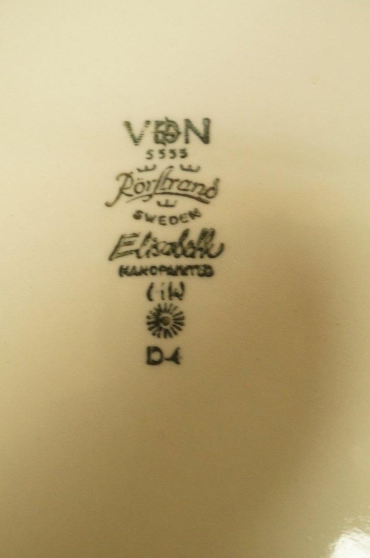 "85pc Set RORSTRAND ""Elisabeth"" Dinnerware China. - 8"