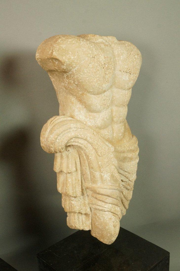 Pr Repro Cast Figural Sculptures. Male torsos. On - 4