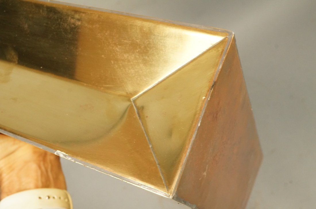 Decorator Brass Bag Magazine Stand. Possibly Ital - 5