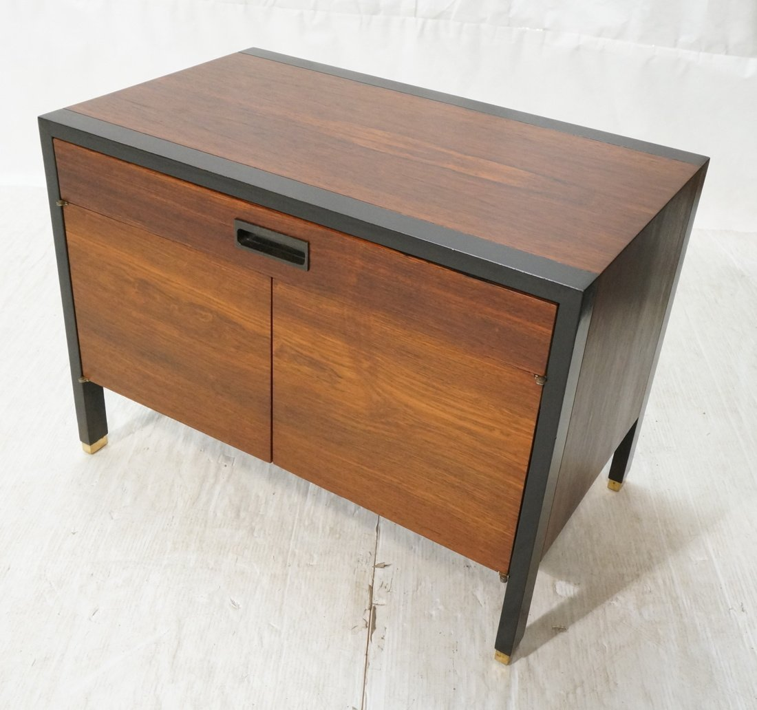 HARVEY PROBBER Rosewood Two Tone Side End Table.