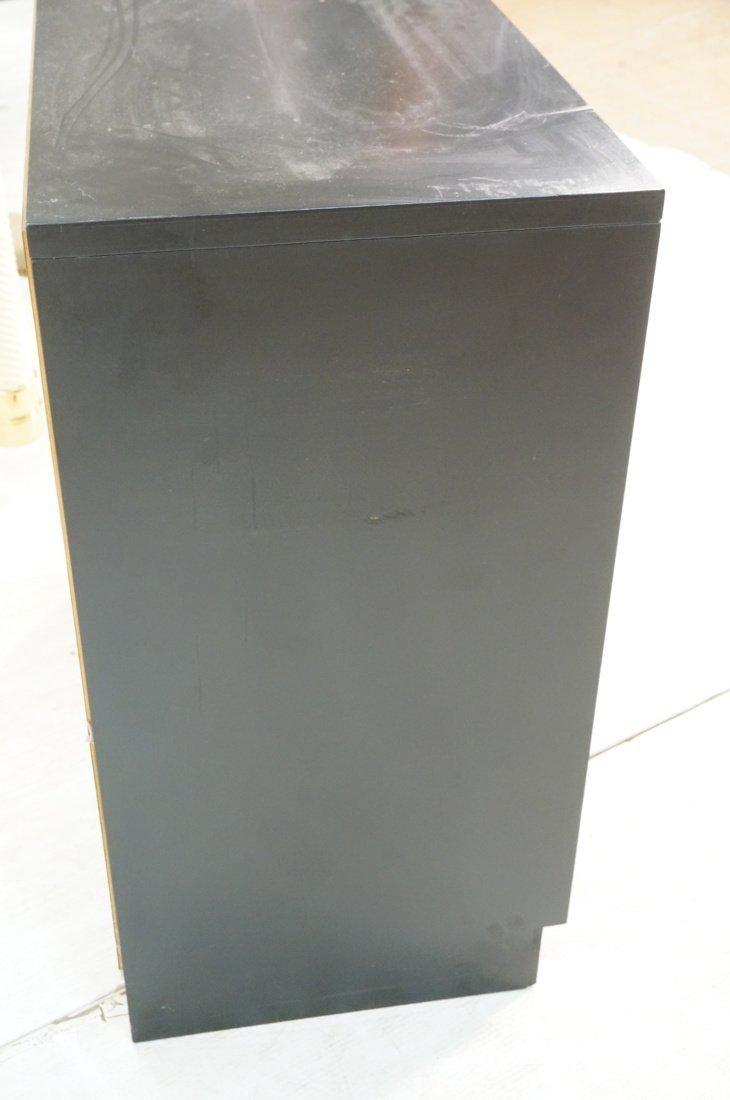 DOROTHY DRAPER style Decorator Black 3 Drawer Cab - 8