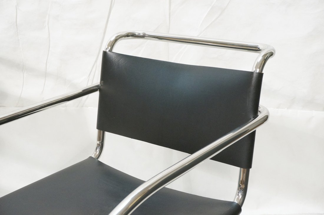 Pr MIES van der ROHE Placentero Lounge Chairs. Tu - 2