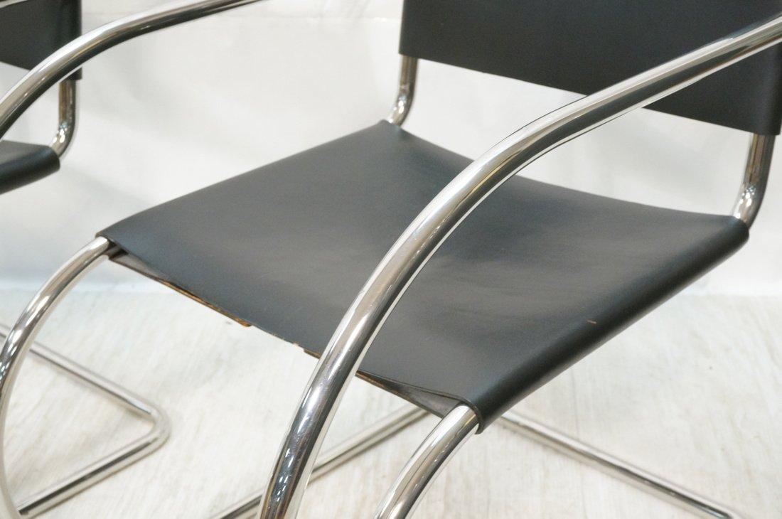 Pr MIES van der ROHE Placentero Lounge Chairs. Tu - 3