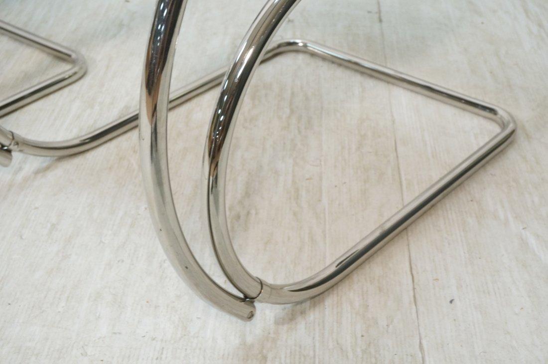 Pr MIES van der ROHE Placentero Lounge Chairs. Tu - 4