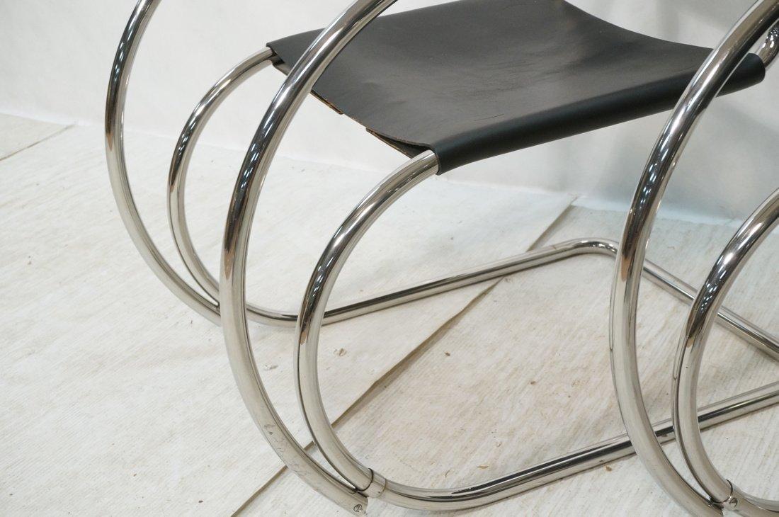 Pr MIES van der ROHE Placentero Lounge Chairs. Tu - 5