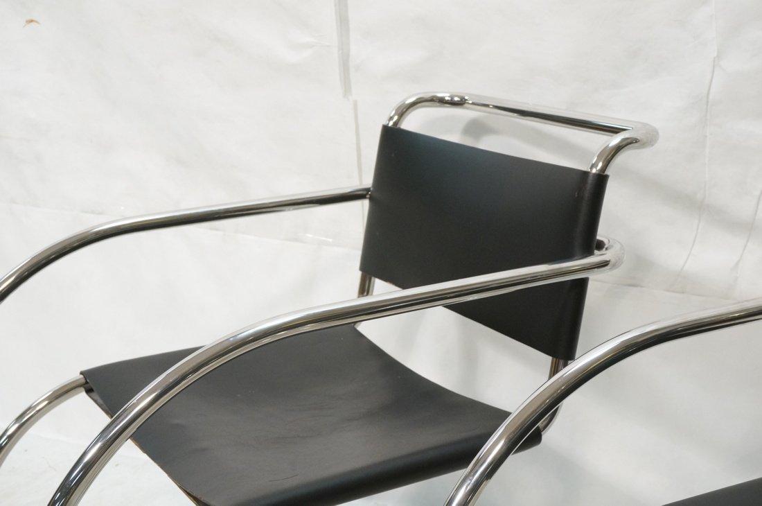 Pr MIES van der ROHE Placentero Lounge Chairs. Tu - 6