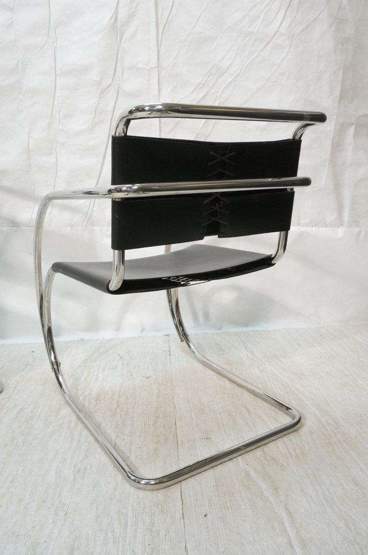 Pr MIES van der ROHE Placentero Lounge Chairs. Tu - 8