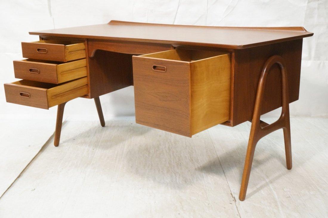 Svend Madsen Danish Modern Teak Desk - 2