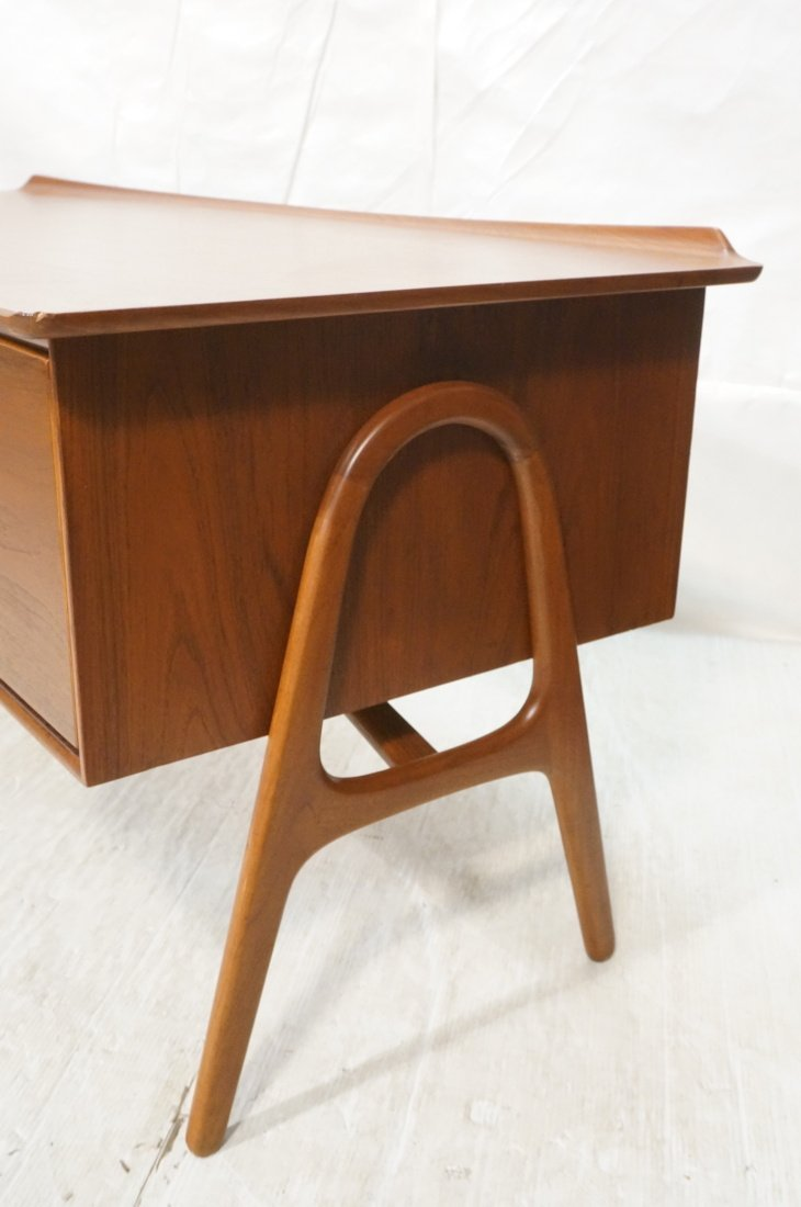 Svend Madsen Danish Modern Teak Desk - 5