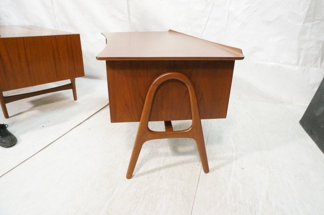 Svend Madsen Danish Modern Teak Desk - 8