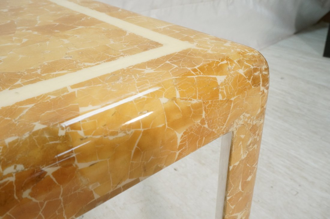 Springer Style Game Dinette Table.  Faux Stone Fi - 5