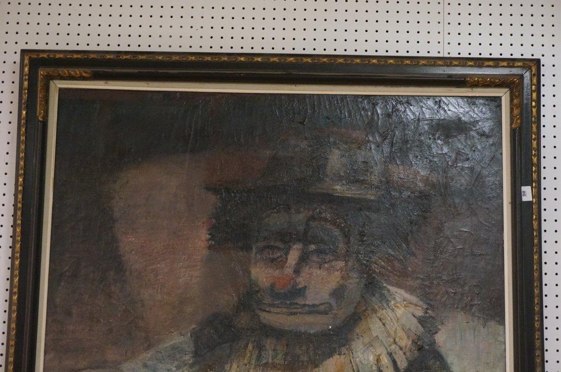 Signed OLSHAM  60 Oil Painting. Portrait of man w - 2