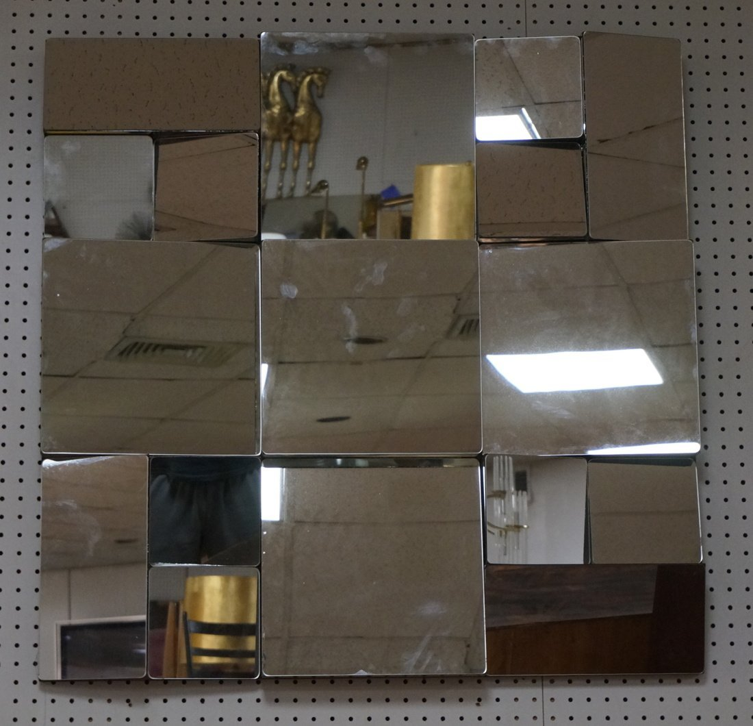 """NEAL SMALL style """"Fractured"""" Wall Mirror. Mirror"""