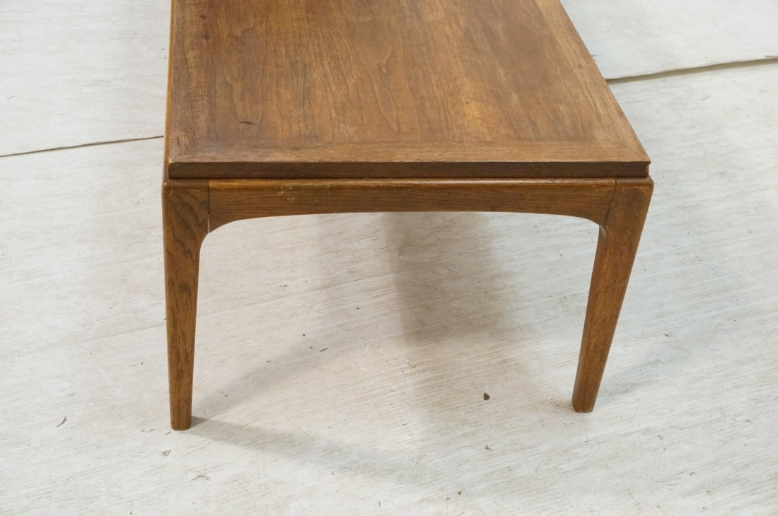 Long LANE American Modern Coffee Cocktail Table. - 2