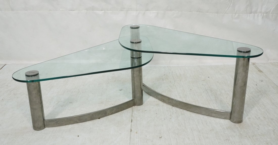 Modernist Butterfly style Coffee Cocktail Table.