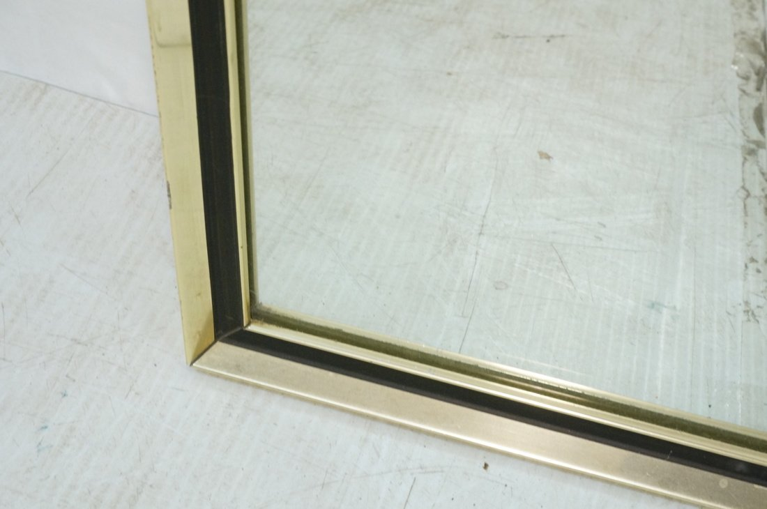 Turner Decorative Wall Mirror. Gold metal with bl - 8