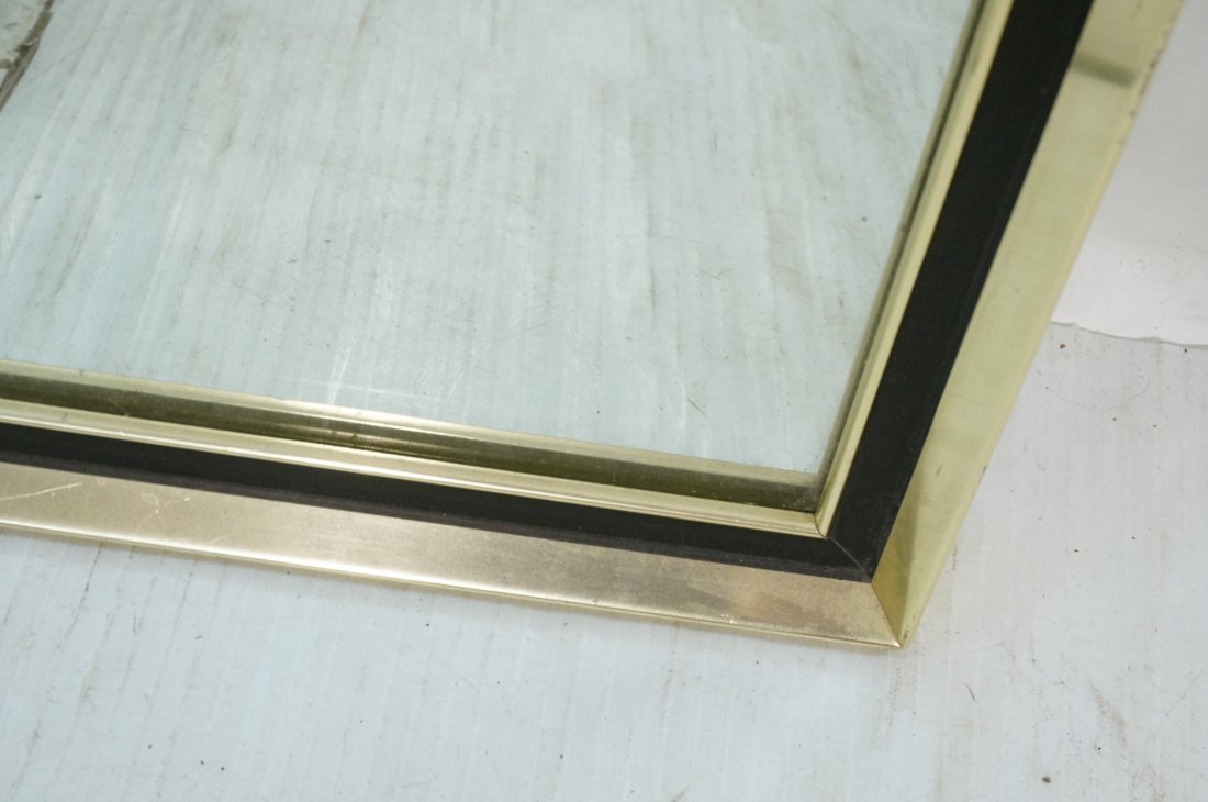 Turner Decorative Wall Mirror. Gold metal with bl - 9