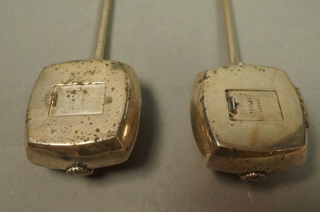 Pr Japanese Sterling Musical Instrument Salt Pepp - 3