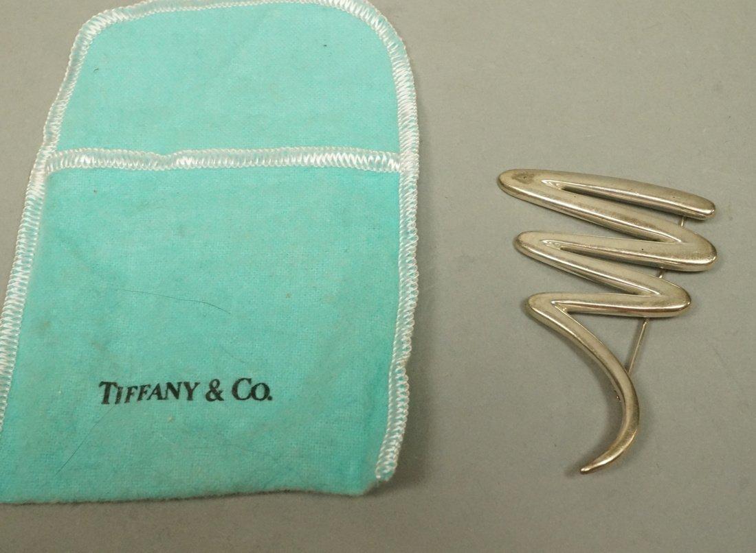 TIFFANY & CO Zig Zag Pin. PALOMA PICASSO.  Marked