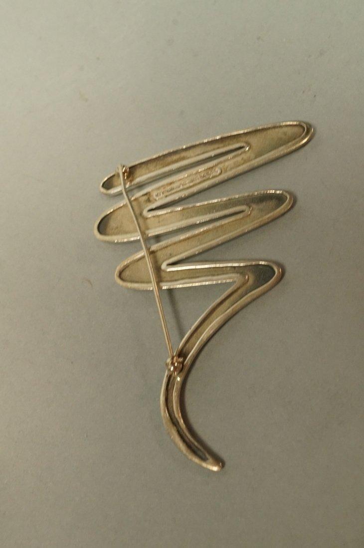 TIFFANY & CO Zig Zag Pin. PALOMA PICASSO.  Marked - 4
