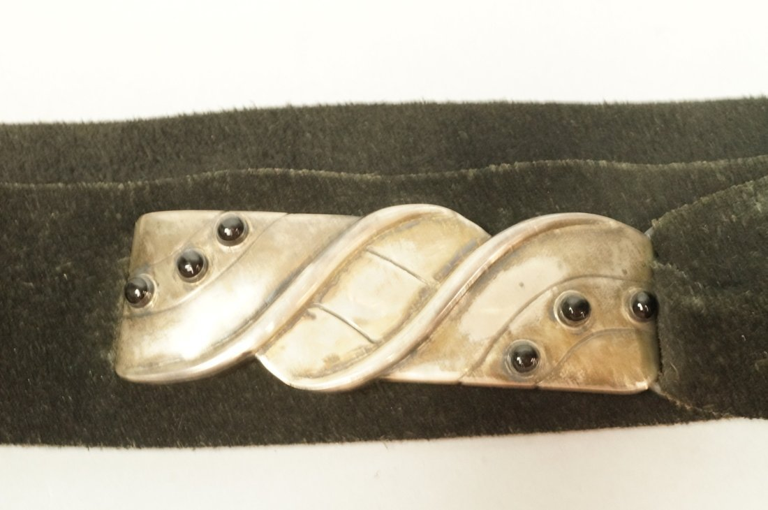 WILLIAM SPRATLING Sterling Belt Buckle. Modernist - 2