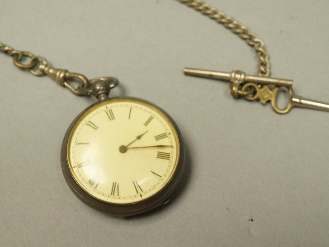 Antique Waltham Key Wind Pocket Watch.  #3049798.