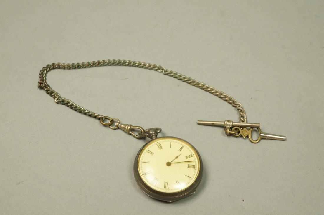 Antique Waltham Key Wind Pocket Watch.  #3049798. - 2