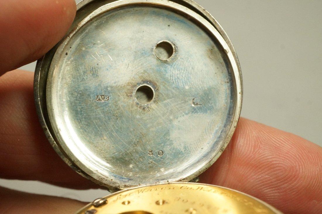 Antique Waltham Key Wind Pocket Watch.  #3049798. - 5