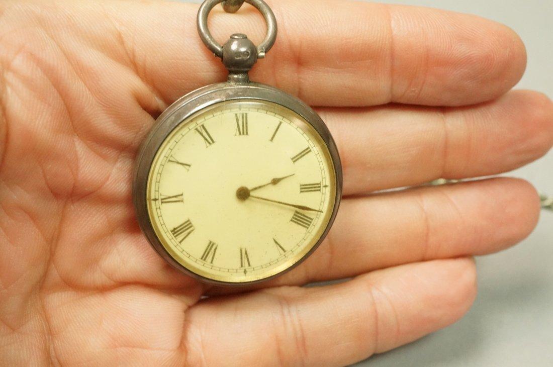 Antique Waltham Key Wind Pocket Watch.  #3049798. - 6