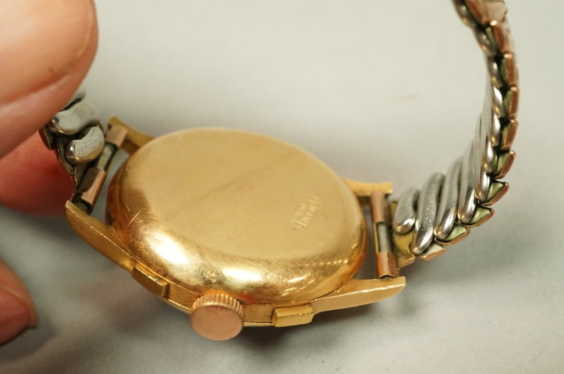 18K Gold Chronographe Suisse Wrist Watch.  Large - 4