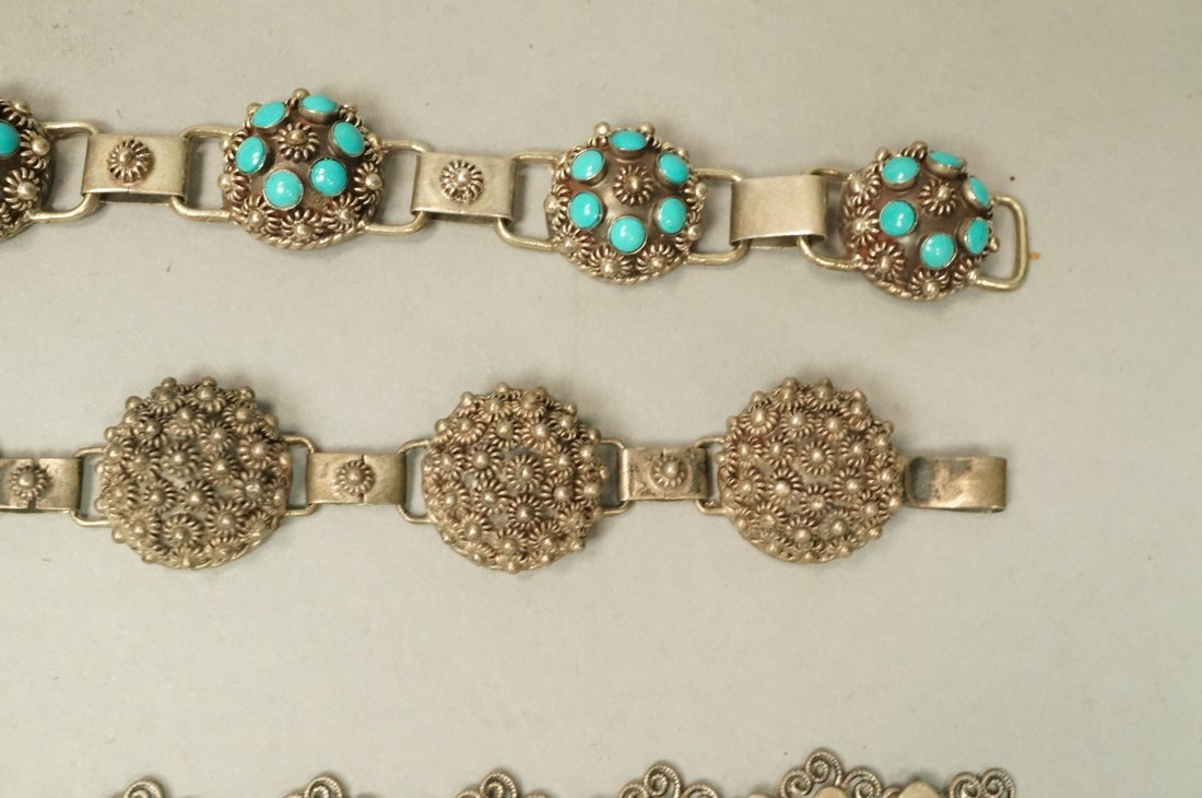 12pc Sterling & Silver Costume Jewelry Lot. 2 Lar - 4