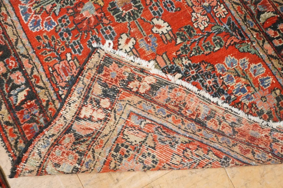 4'11 x 2'8 2 pc handmade oriental rust carpet rug - 6