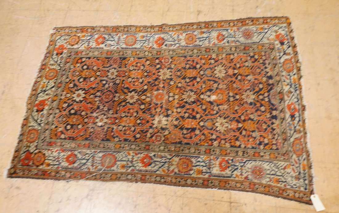 7 x 4'8 handmade oriental carpet rug, all over pa