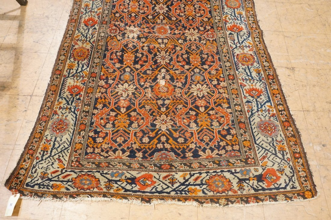 7 x 4'8 handmade oriental carpet rug, all over pa - 2
