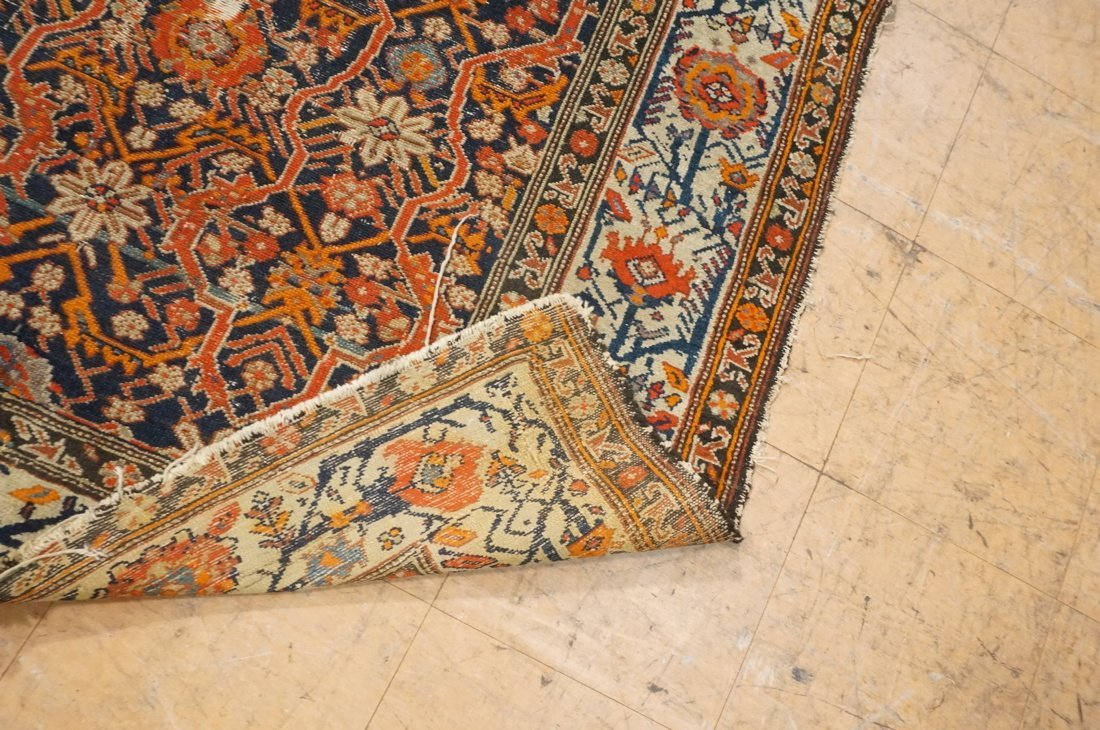 7 x 4'8 handmade oriental carpet rug, all over pa - 5