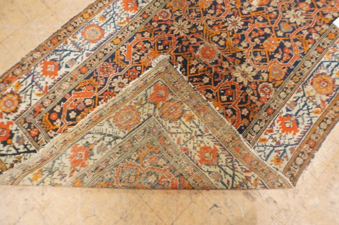 7 x 4'8 handmade oriental carpet rug, all over pa - 6