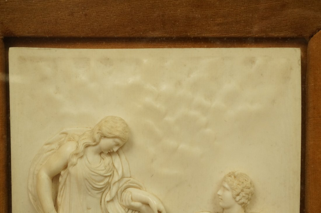 Antique Finely Carved Plaque. Perseus and nymph A - 5