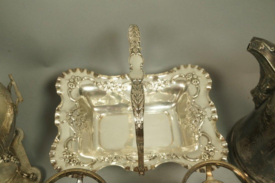 5pcs Antique Silver Plate Serving Items. Pr Renai - 2