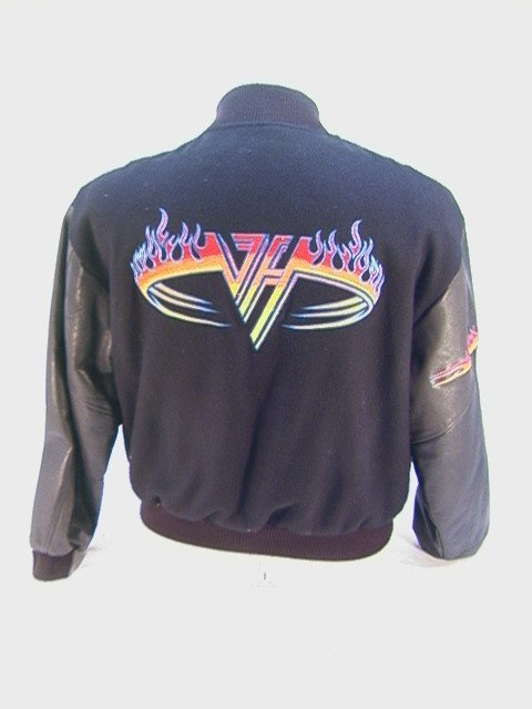 1001: VAN HALEN Crew Tour Jacket Balance World Tour 199