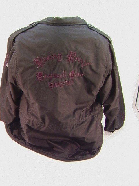 1004: CHER Farewell Crew Tour Jacket 2002 2003 Lined Ny